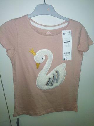 camiseta nueva con etiqueta