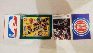 Cromos NBA, Isiah Thomas, años 80, Super Canasta.
