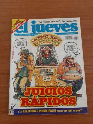 Revista El Jueves con Póster Central año 2000