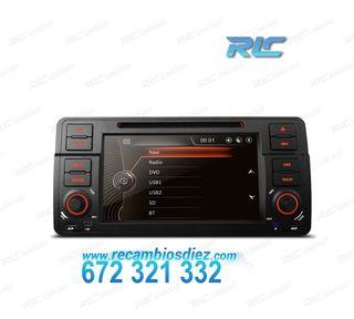 "RADIO NAVEGADOR 7"" BMW E46 USB GPS TACTIL HD"