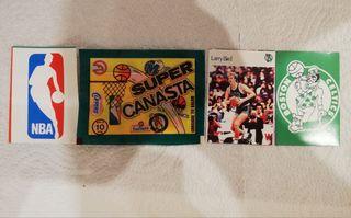 Cromos NBA, Larry Bird, años 80, Super Canasta