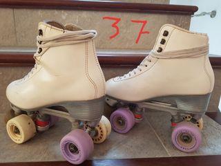 patines patinaje artistico libre. talla 37
