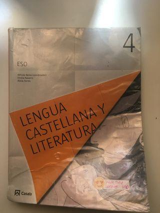 Libro de lengua de 4º de la ESO