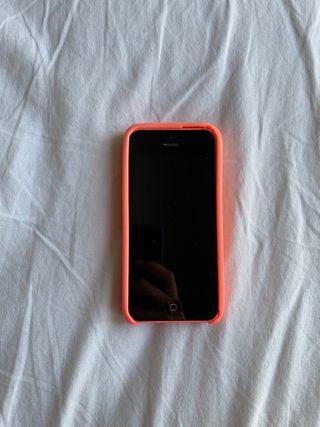 Iphone 5c rosa 16gb + funda