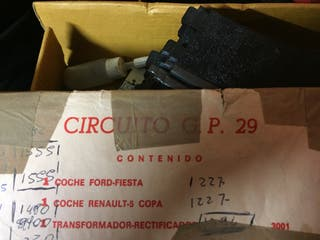 Se vende scalextric GP 29