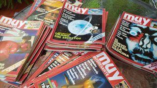 Colección de revistas antiguas
