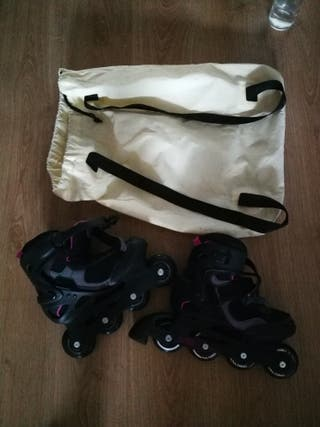 patines de línea