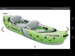 Kayak hinchable SEVYLOR THAITI 2 plazas, NUEVO