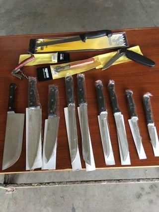 Lote de cuchillos nuevos