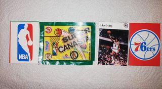 Cromos NBA, Julius Erving, años 80, Super Canasta.