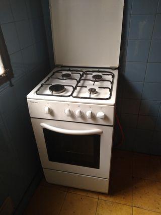 cocina horno gas