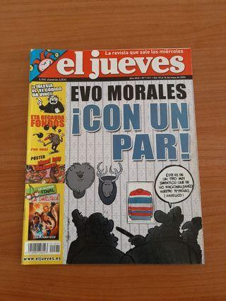 Revista El Jueves con Póster Central año 2006
