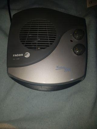 Calefactor Fagor 1000/2000W