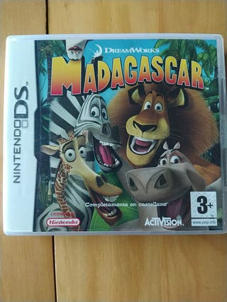 Juegos DS,2DS,3DS ( Madagascar )