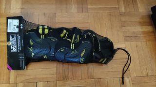 Pack de protecciones para patinaje/skate adulto.