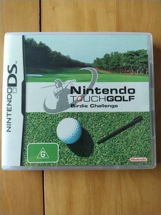 Juegos DS,2DS,3DD (Nintendo Touch Golf)