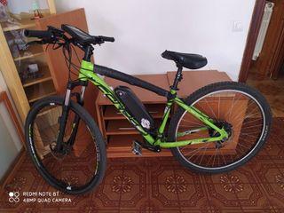 bicicleta electrica rin 29. bateria 16 ah