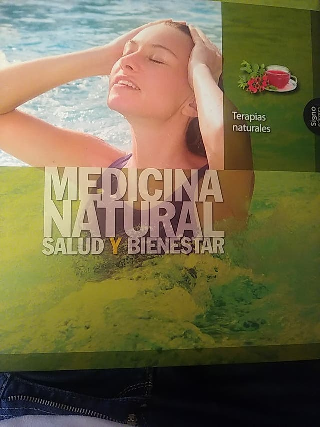 Libro Terapias Naturales