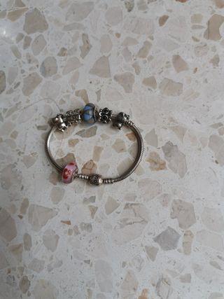 pulsera Pandora charm original plata