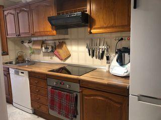 Muebles de cocina con puertas de madera