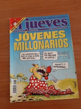 Revista El Jueves con Póster Central año 1999