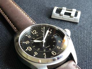Reloj SUIZO HAMILTON KAHAKI FIELD QUARTZ H68551833