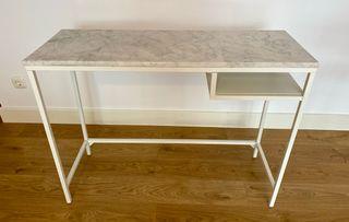 Mesa IKEA + pieza marmol a medida.