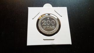 Moneda 200 pesetas año 2000 sin circular