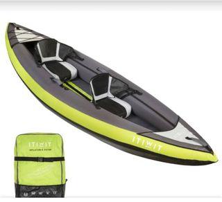 Kayak hinchable de Decathlon