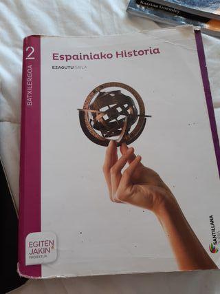 Libro de Historia de España.