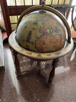 Mueble bar - bola del mundo ESCUCHO OFERTAS