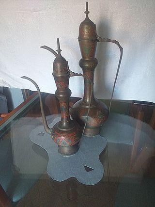 Tetera marroquí antigua