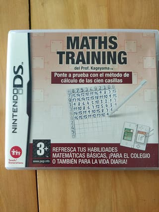 Juegos DS,2DS,3DS ( Maths Training )