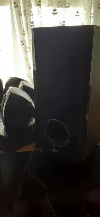 home cinema LG amplificador