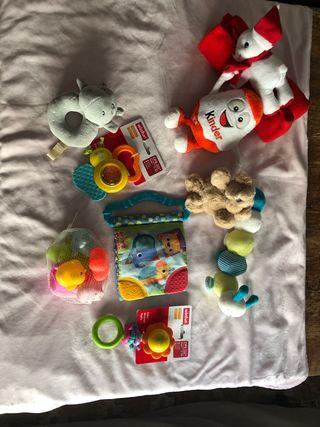 set juguetes bebe de 0-9 meses