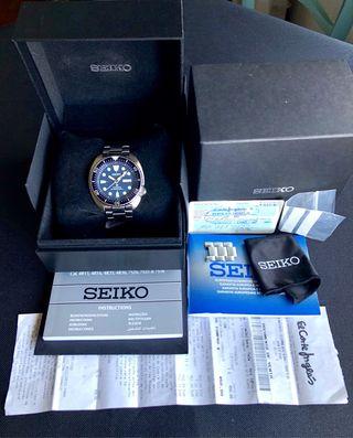 SEIKO PROSPEX TORTUGA.Reloj automatico DIVER'S