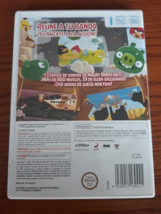 juego wii angry birds trilogy
