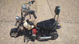Mini moto harley. funciona perfecta