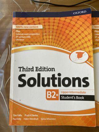 Libro de inglés third edition solutions oxford