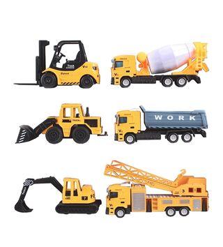 Lote gruas y excavadoras juguete nuevo
