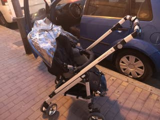 carrito para bebés 3 piezas