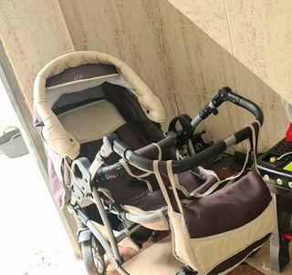 carrito bebe 3piezas
