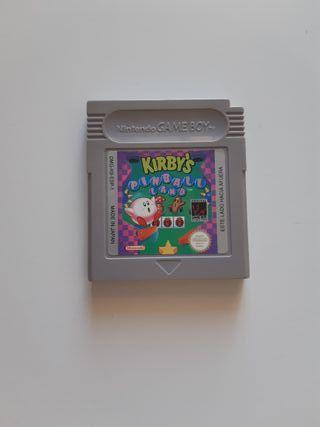 Juego Kirby's Pinball Land