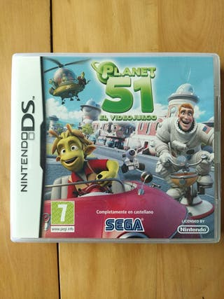 Juegos DS,2DS,3DS ( Planet 51 )