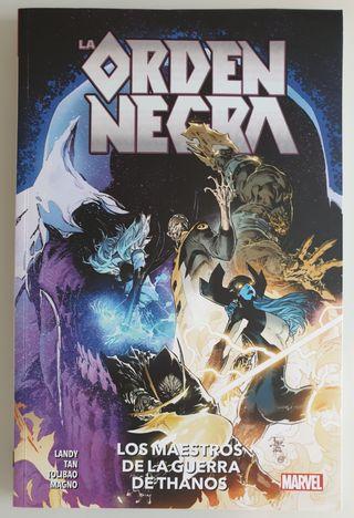 Cómics Marvel La Orden Negra