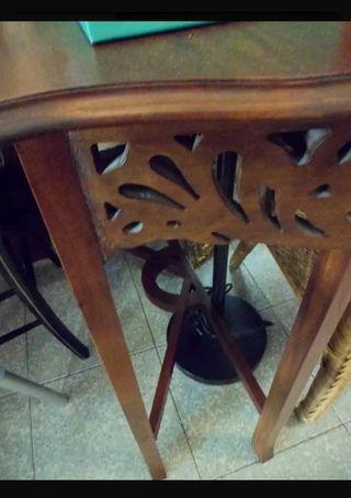 silla antigua isabelina