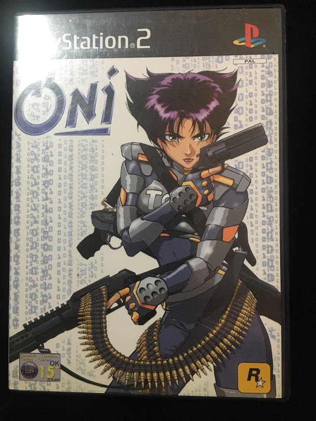 VIDEO JUEGO ONI PS2 COMPLETO