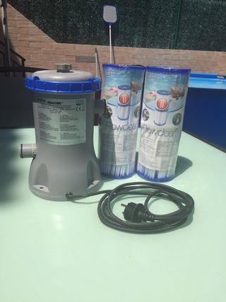 Bomba de filtro de piscina