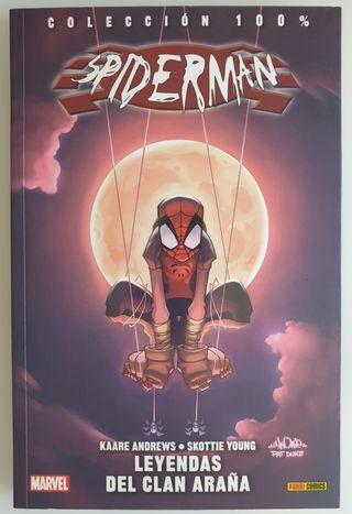 Cómics Marvel Spiderman Leyendas del Clan Araña