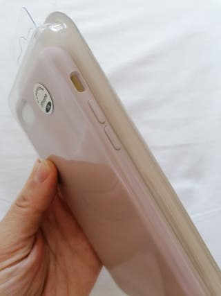 Funda Iphone 7/8+ cristal templado para pantalla